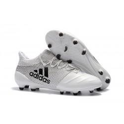 Adidas Scarpe Calcio X 17.1 FG Techfit - Bianco Nero