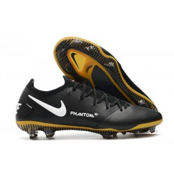 Nike Phantom GT Elite Tech Craft FG 2021 Scarpa Calcio Noir Or Bianco