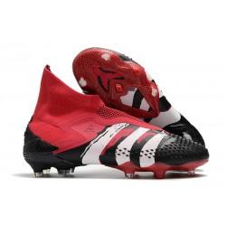 adidas Scarpe Predator Mutator 20+ FG - Rosso Nero Bianco