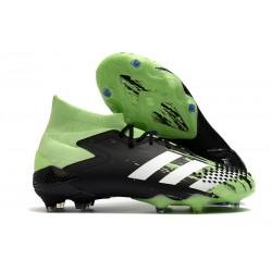Scarpa adidas Predator Mutator 20.1 FG Nero Bianco Verde