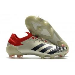 adidas Scarpe Predator Mutator 20.1 L FG Bianco Rosso Nero