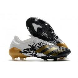 adidas Scarpe Predator Mutator 20.1 L FG Bianco Nero Oro