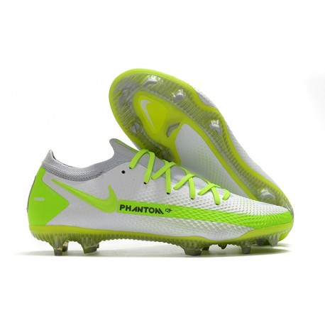 Nike Phantom GT Elite FG 2021 Scarpa Calcio Bianco Giallo