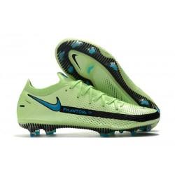 Nike Phantom GT Elite FG 2021 Scarpa Calcio Verde Nero Blu