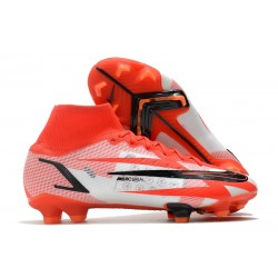 Nike Superfly 8 Spark Positivity CR7 Elite FG Rosso Cile Nero Ghost Arancione Total