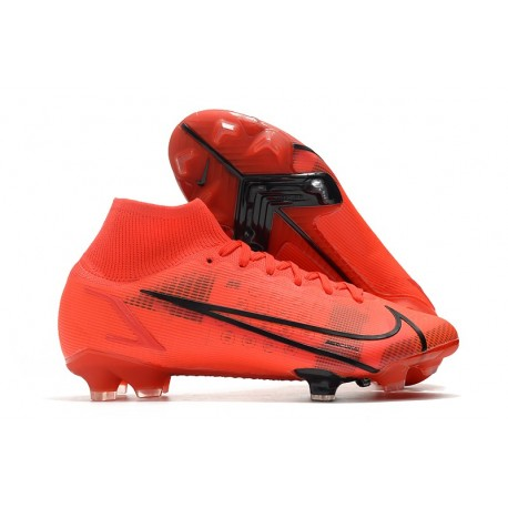 Nike Mercurial Superfly 8 Elite FG Rosso Nero