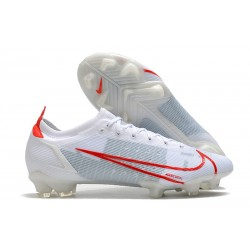 Nike Mercurial Vapor 14 Elite FG Scarpa Bianco Rosso