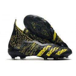 adidas Scarpe Calcio Predator Freak+ FG Nero Giallo