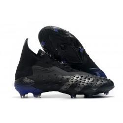 adidas Scarpe Calcio Predator Freak+ FG Nero Core Ferro Metallizzato Inchiostro