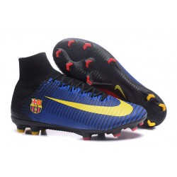 Scarpa Nuove Nike Mercurial Superfly V FG - Barcelona FC Blu
