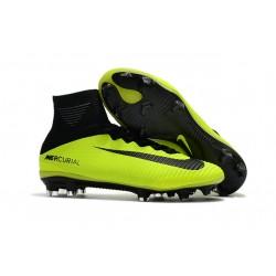 Nike Scarpa Calcio Mercurial Superfly 5 DF FG ACC - Verde Nero
