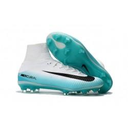 Nike Scarpa Calcio Mercurial Superfly 5 DF FG ACC - Bianco Blu