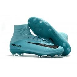 Nike Scarpa Calcio Mercurial Superfly 5 DF FG ACC - Blu Nero