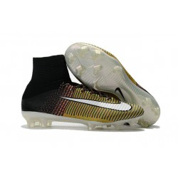 Nike Scarpa Calcio Mercurial Superfly 5 DF FG ACC - Giallo Nero