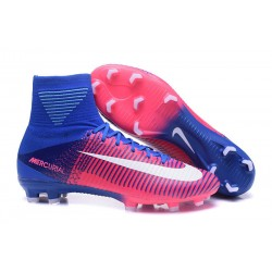 Scarpe Nike Mercurial Superfly V Dynamic Fit FG - Rosa Blu