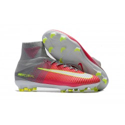 Scarpe Nike Mercurial Superfly V Dynamic Fit FG - Rosa Gris