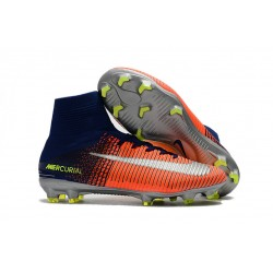Scarpe Nike Mercurial Superfly V Dynamic Fit FG - Blu Cremise