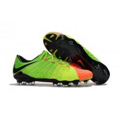 Nike Hypervenom Phantom 3 Scarpe Da Calcetto Con Tacchetti - Verde Arancio