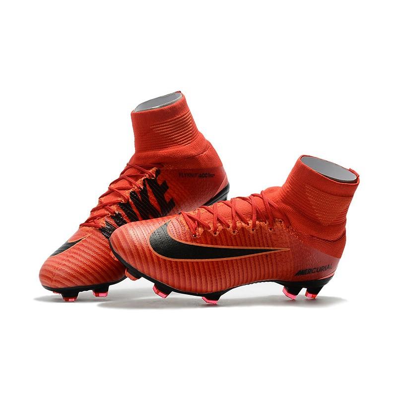 Mercurial Da Superfly Nero Nike V Rosso Scarpe Fg Df Calcio FdqY5qw 5f49f4752728c