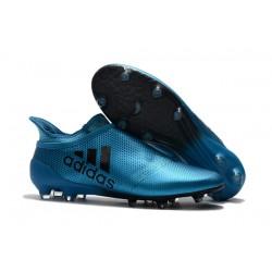 Nuove Scarpe da Calcio adidas X 17+ Purespeed FG - Blu