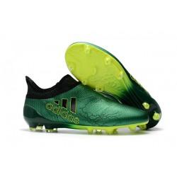 Nuove Scarpe da Calcio adidas X 17+ Purespeed FG - Verde
