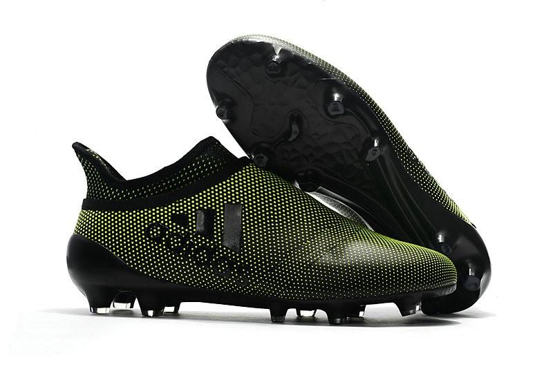 Recuerdo Instalación La cabra Billy  Nuove Scarpe da Calcio adidas X 17+ Purespeed FG - Verde Scuro