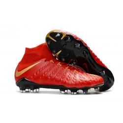 Nike Hypervenom Phantom III DF FG Scarpa da Calcio - Rosso Oro