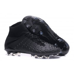 Scarpe Nike Hypervenom Phantom 3 Dynamic Fit FG - Tutto Nero