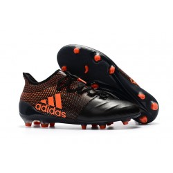 Adidas Scarpe Calcio X 17.1 FG Techfit - Nero Arancio