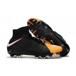 Scarpe Nike Hypervenom Phantom 3 Dynamic Fit FG - Nero Arancio