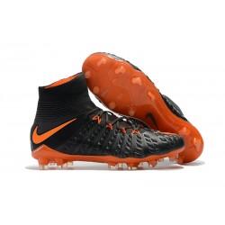 Nike Neymar Scarpa da Calcio Hypervenom Phantom III FG ACC - Nero Arancio