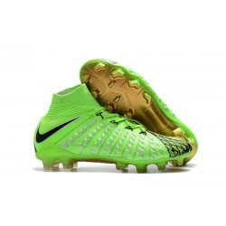 Nike Neymar Scarpa da Calcio Hypervenom Phantom III FG ACC - Verde Nero