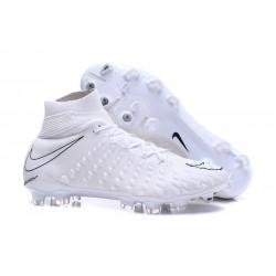 Nike Nuove Hypervenom Phantom III FG Neymar Scarpe Da Calcetto - Tutto Bianco
