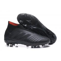 Scarpe Calcio Adidas Predator 18+ FG - Tutto Nero