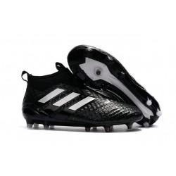 Adidas ACE 17+ PureControl FG Scarpe da Calcio - Nero Bianco