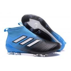 Adidas ACE 17+ PureControl FG Scarpe da Calcio - Blu Nero
