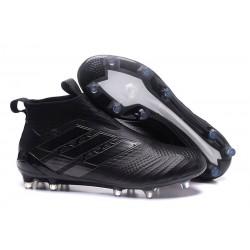 Scarpa Adidas ACE 17+ PureControl FG Uomo - Tutto Nero