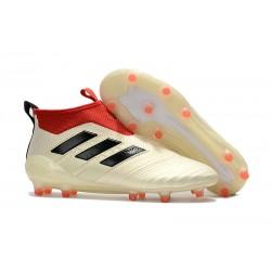 Scarpa Adidas ACE 17+ PureControl FG Uomo - Bianco Nero Rosso