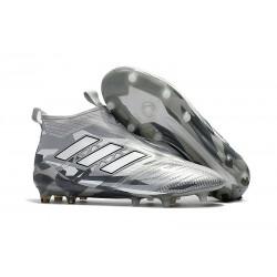Scarpa Adidas ACE 17+ PureControl FG Uomo - Grigio Bianco