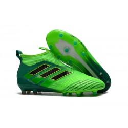 Scarpa Adidas ACE 17+ PureControl FG Uomo - Verde Nero