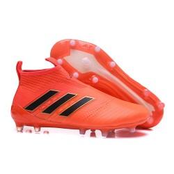 Adidas ACE 17+ PureControl FG Scarpe da Calcio Uomo - Arancio Nero