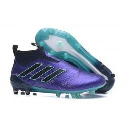 Adidas ACE 17+ PureControl FG Scarpe da Calcio Uomo - Viola Nero