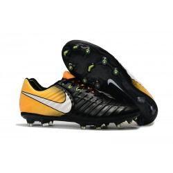 Nike Tiempo Legend VII FG Scarpe da Calcio Uomo - Nero Giallo