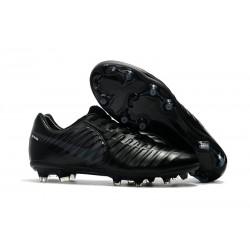 Nike Tiempo Legend VII FG Scarpe da Calcio Uomo - Tutto Nero