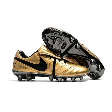 Nike Tiempo Totti X Roma Scarpe da Calcio Uomo Oro