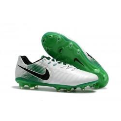 Nike Tiempo Legend VII FG Scarpe da Calcio Uomo - Bianco Verde