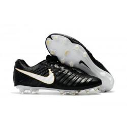 Nike Tiempo Legend VII FG Scarpe da Calcio Uomo - Nero Bianco
