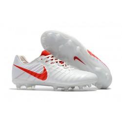 Nike Scarpa Tiempo Legend 7 FG Canguro - Bianco Rosso