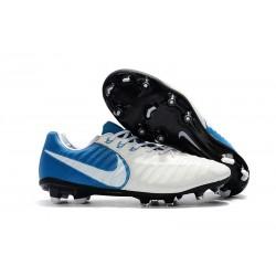 Nike Scarpa Tiempo Legend 7 FG Canguro - Bianco Blu