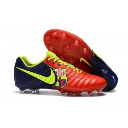 Nike Scarpa Tiempo Legend 7 FG Canguro - Barcelona Rosso